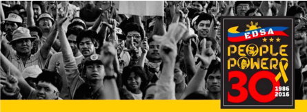 Edsa People Power Banner