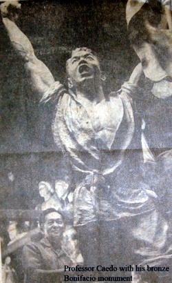 Bonifacio Anastacio T Caedo Monument Philippine Folklife