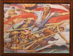 Exhibit-Bonifacio-Cry-of-Balintawak-by-Botong-Francisco
