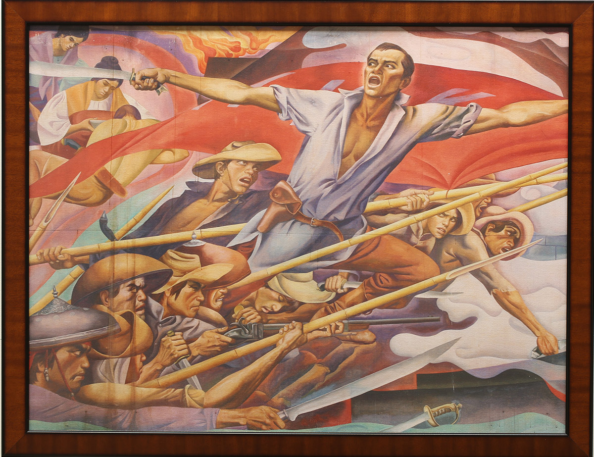 Exhibit-Bonifacio-Cry-of-Balintawak-by-Botong-Francisco