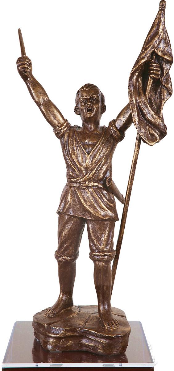 Exhibit Bonifacio Statue By Anastacio Caedo Philippine